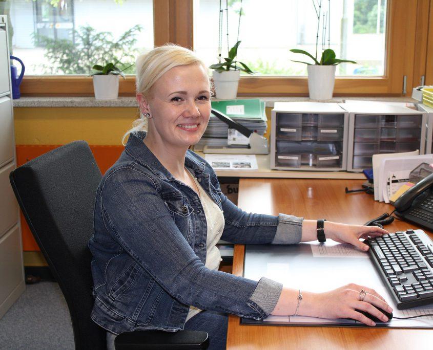 Frau Eichhorn - Schulsekretärin